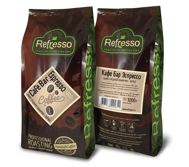 Сoffee Club Espresso 1000 гр. Зерно