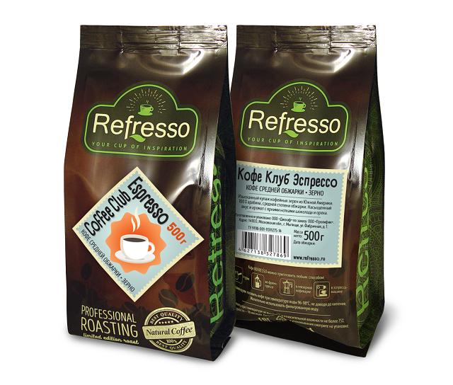 Сoffee Club Espresso 500 гр. зерно