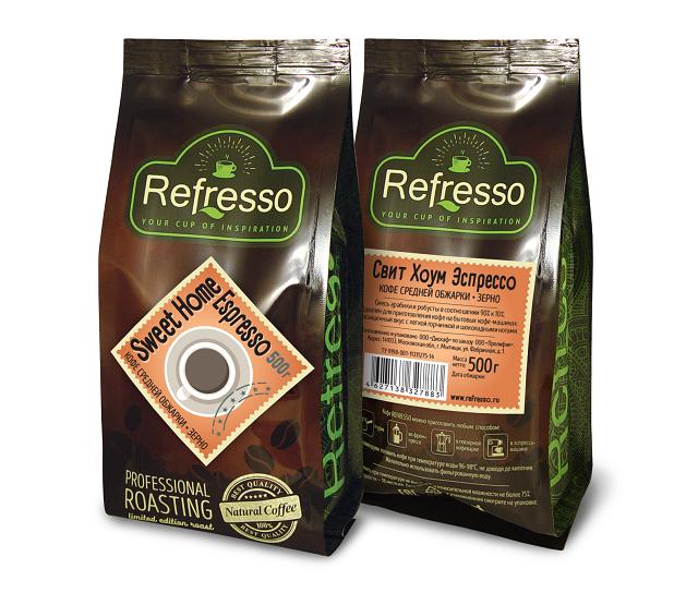 Sweet Home Espresso 500 гр. Зерно