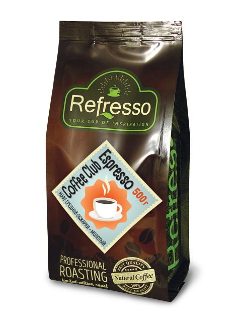 Сoffee Club Espresso 500 гр. молотый