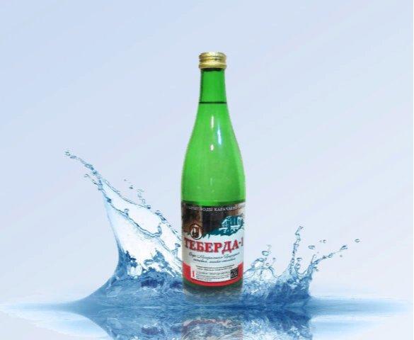 Вода минеральная негазированная Теберда-1 (стекло)