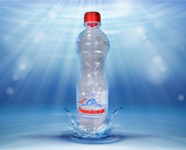 Вода минеральная негазированная Ледниковая (ПЭТ, 1.5л)