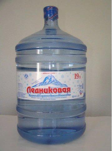 Вода минеральная негазированная Ледниковая (ПЭТ, 19л)