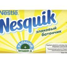 Nesquik Шоколадный батончик с цельными злаками 25г