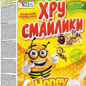 Кукурузные хлопья медовые