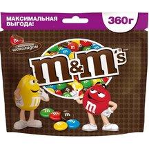Драже M&M's с молочным шоколадом 360г