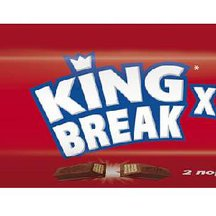 Шоколадный баточик KitKat King Break 3x87г