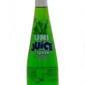 Лимонад «Юни Джус» ТАРХУН 0,5л. На сахаре.(20шт/уп)