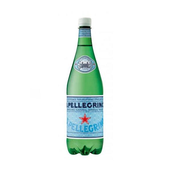 Вода минеральная San Pellegrino газ ПЭТ 1,0 л