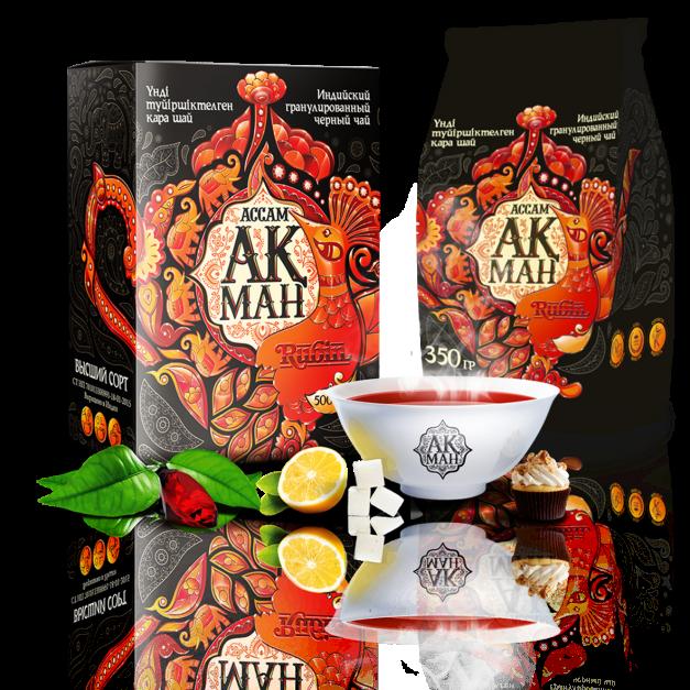 Индийский чай «Акман Rubin»