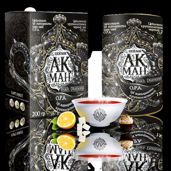 Цейлонский чай «Ақман Black Diamond»