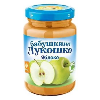 Пюре из яблок натуральное