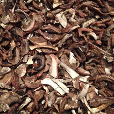 Сушеные грибы подосиновики