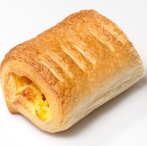 Слойка с сыром, 65гр (Полуфабрикат)
