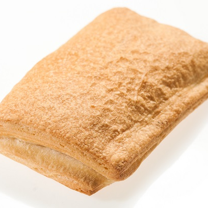 Слойка дрожжевая с ветчиной и сыром, 80гр (Полуфабрикаты