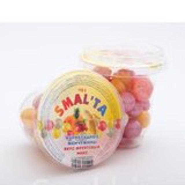 """Драже «Мармеладная жемчужина» фруктовый микс """"SMALTA"""""""