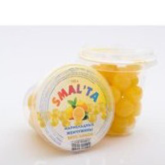 "Драже «Мармеладная жемчужина» лимон ""SMALTA"" ст 110 гр."