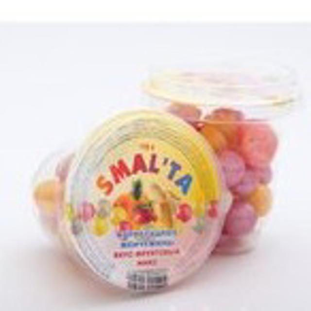"Драже «Мармеладная жемчужина» персик ""SMALTA"" ст 110 гр."