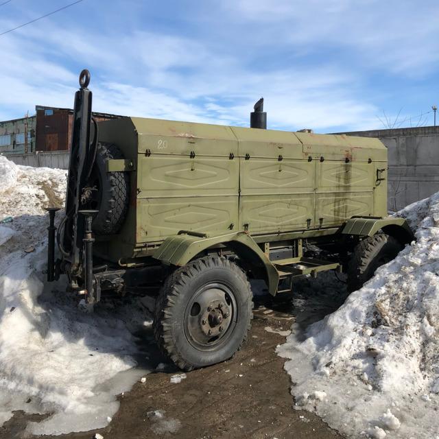 Передвижная насосная установка ПНУ-100/200М
