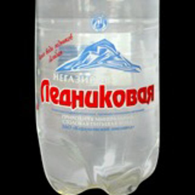 """минеральная вода """"Ледниковая"""""""