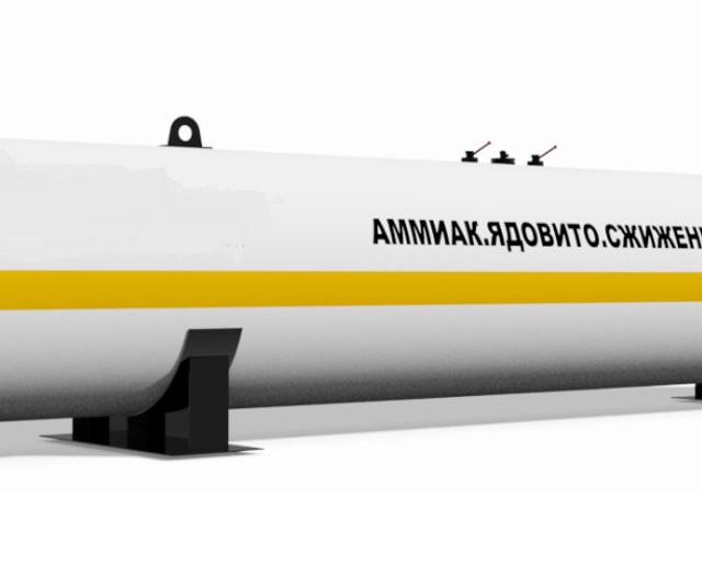Установка для приготовления водного аммиака - УПАВ. Объе