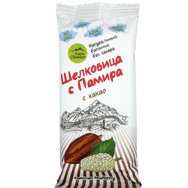 Батончик из шелковицы с какао