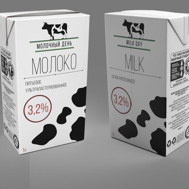 Молоко тетра-пак