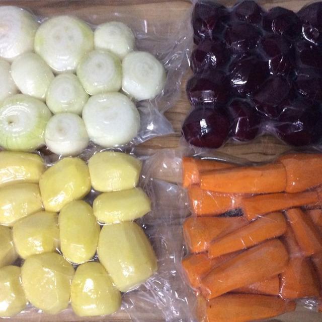 Овощи чищенные