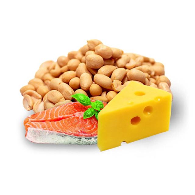 Арахис жаренный со вкусом семги c сыром