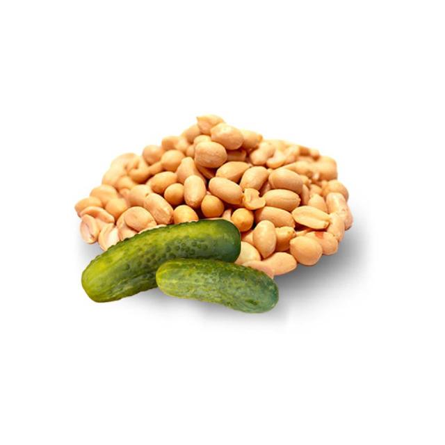 Арахис жареный со вкусом малосольного огурца