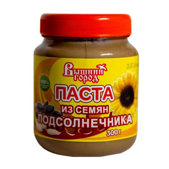 """Паста """"Вышний город"""" из семян Подсолнечника 300г"""