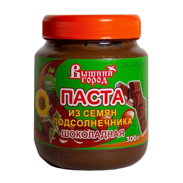 """Паста """"Вышний город"""" из семян подсолнечника с шоколадом"""