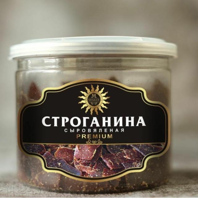 Строганина из говядины (120 гр.)