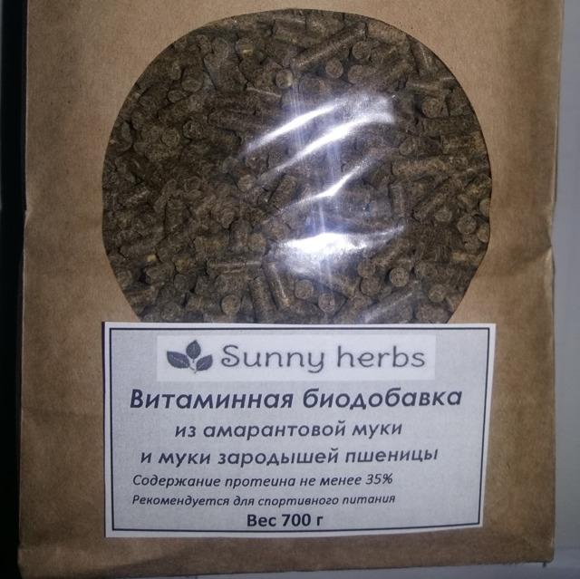 Витаминная биодобавка из муки амаранта и зарод.пшеницы