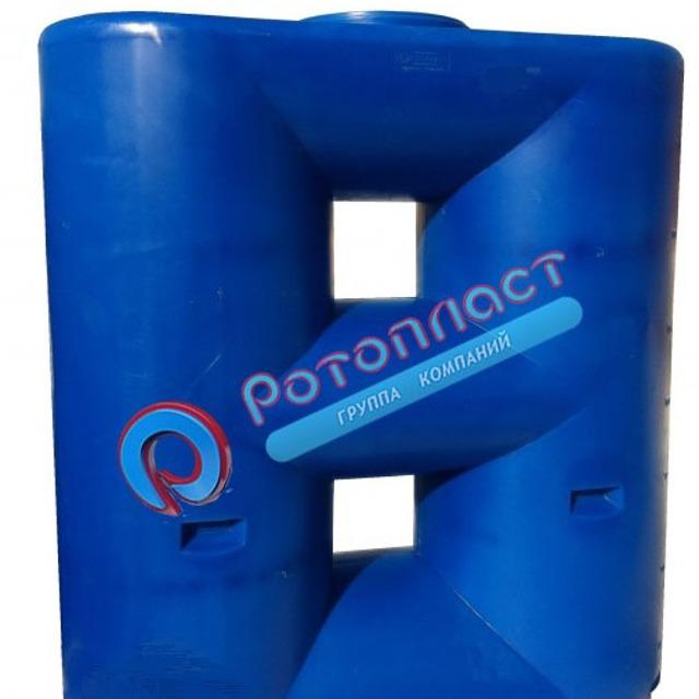 Емкость 2000 литров универсальная пластиковая