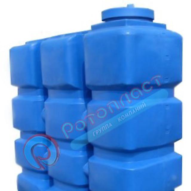Емкость 2000 литров призматическая