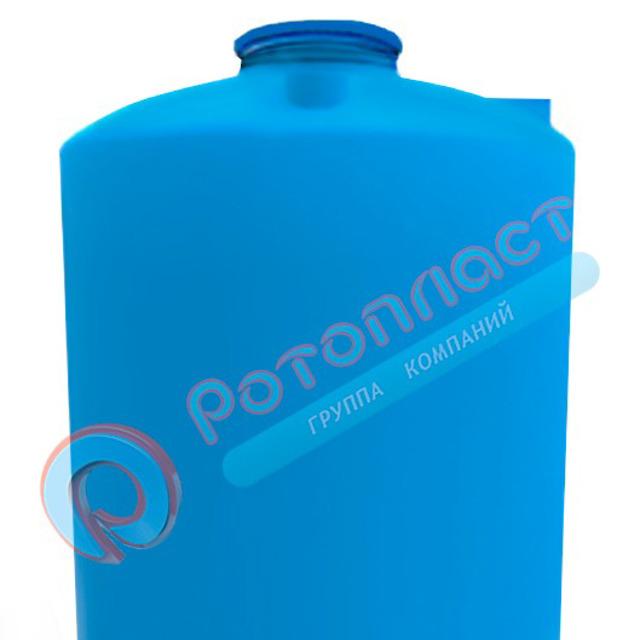 Емкость 3000 литров пластиковая цилиндрическая