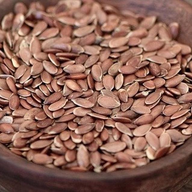 Органический темный лен, Organic brown flaxseeds