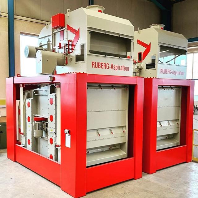 Зерноочистительная машина RUV от RUBERG