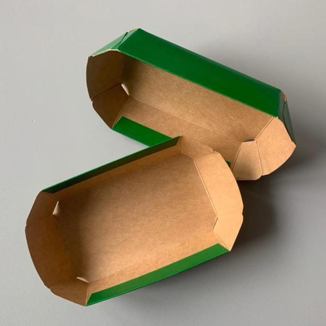 Лотки из крафт-картона