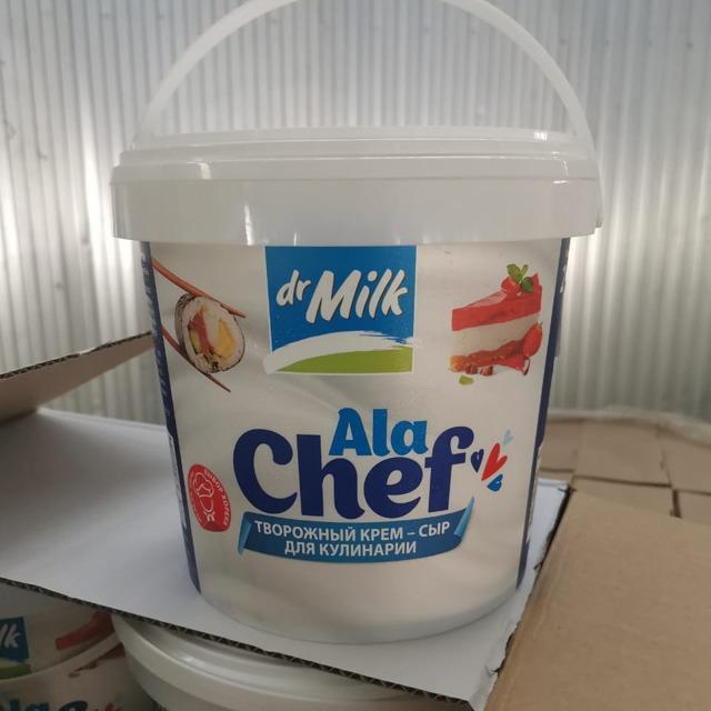 Творожный крем-сыр для кулинарии «Dr. Milk»