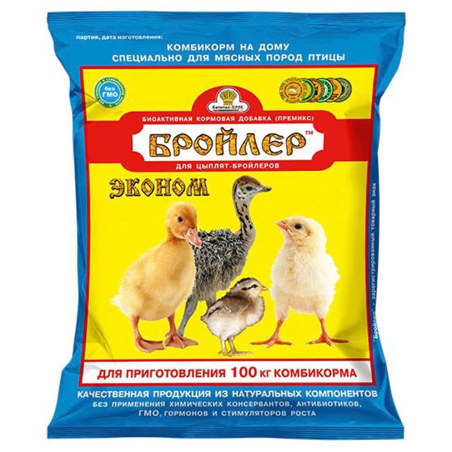 Премикс Бройлер для цыплят-бройлеров старше 4-х недель
