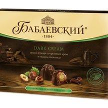 Конфеты в коробке Бабаевский Целый фундук и ореховый кре