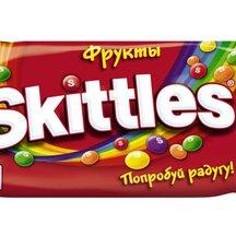 """Драже Skittles """"Фрукты"""" в сахарной глазури"""