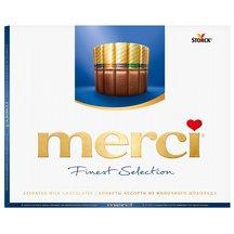 Мерси шоколадные конфеты Ассорти из молочного шоколада