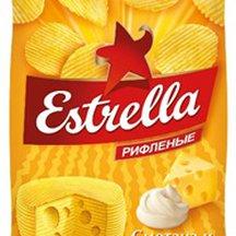 Чипсы Estrella картофельные со вкусом сметаны и сыра