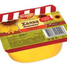 Халва Лакомка подсолнечная с арахисом