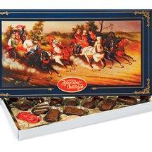 Конфеты в коробке Русь тройка