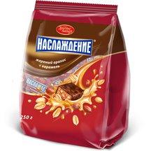 Наслаждение жареный арахис+карамель 250г