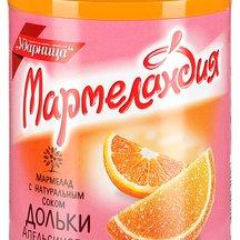 "Мармелад Ударница ""Мармеландия"" апельсиновые дольки"